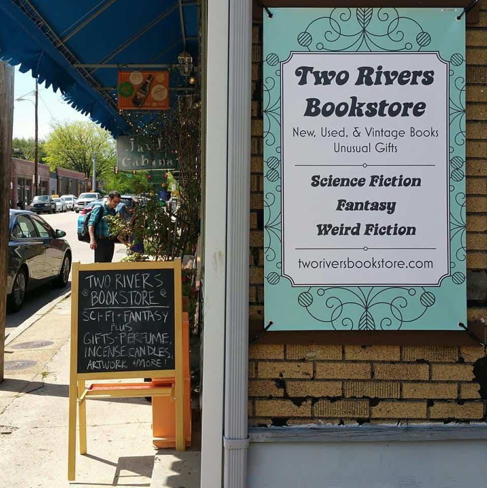 two rivers book store, science fiction book stores