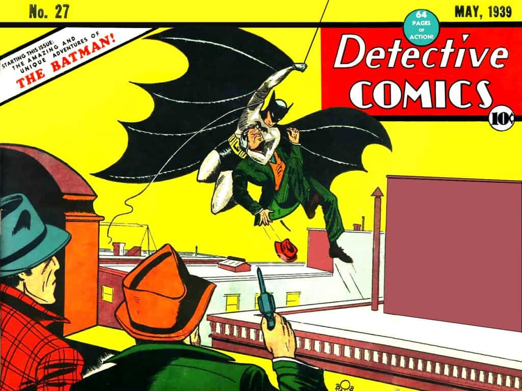 detective comics #27, first batman, bill finger