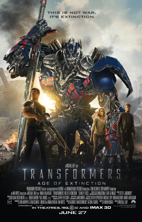 Transformers: Age of Extinction – Movie Review