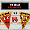chicago pizza, new york pizza, chicago pizza vs new york pizza, best pizza, the great pizza debate