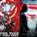 comic book movies, captain america civil war, batman v superman
