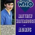 matthew waterhouse, doctor who, adric